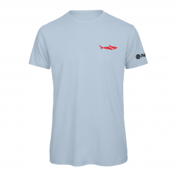 PADI Dive Flag Shark-Baby Blue
