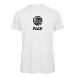 T-shirt PADI da uomo - Bianco
