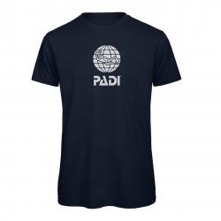 T-shirt PADI da uomo - Blu...