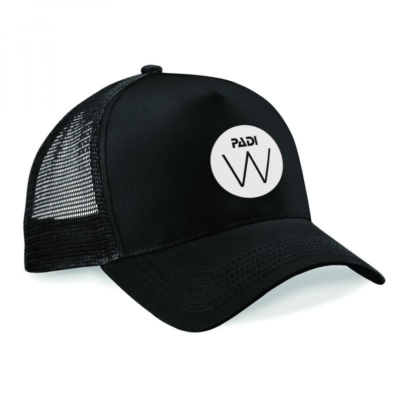 Cappellino con logo bianco WDD - Nero