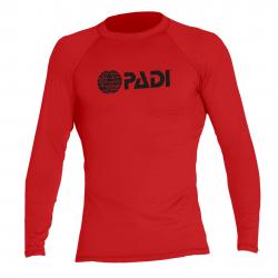 Rashguard da uomo PADI - Rosso