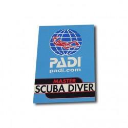 Decal - PADI Master Scuba...