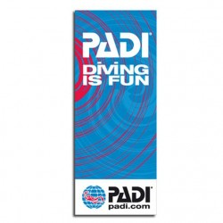 PADI Flag 100*250 cm Diving...