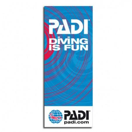PADI Flag 100*250 cm Diving is Fun