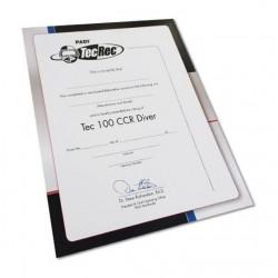 Certificate - Tec 100 CCR...