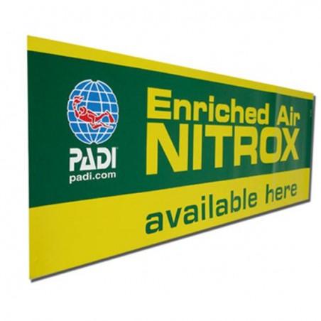PADI EANx Window Decal 60*15 cm