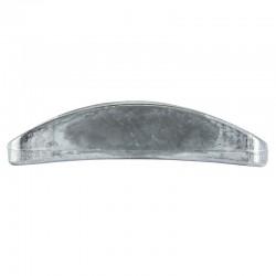 HOLLIS - PIASTRA Acciaio/Alluminio
