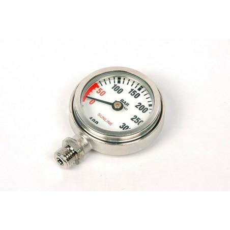 Minimanometro Professionale con vetro temperato minerale 400 BAR