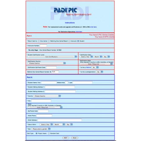 Course Completion Appl. - EFR Online non abbinato