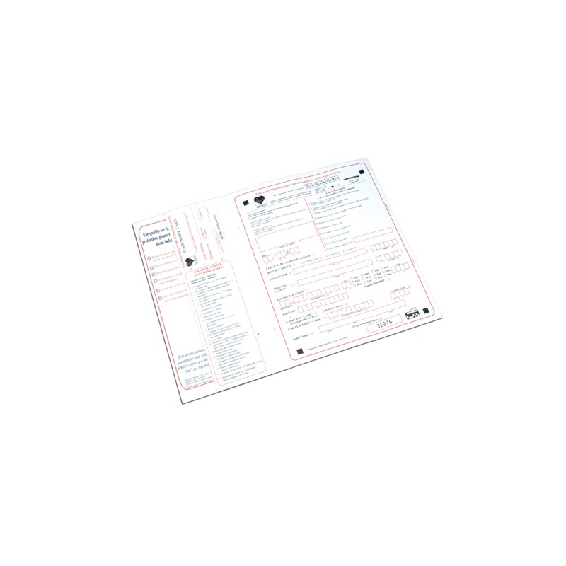 Course Completion Appl. - EFR Envelope Cartaceo abbinato MAN.
